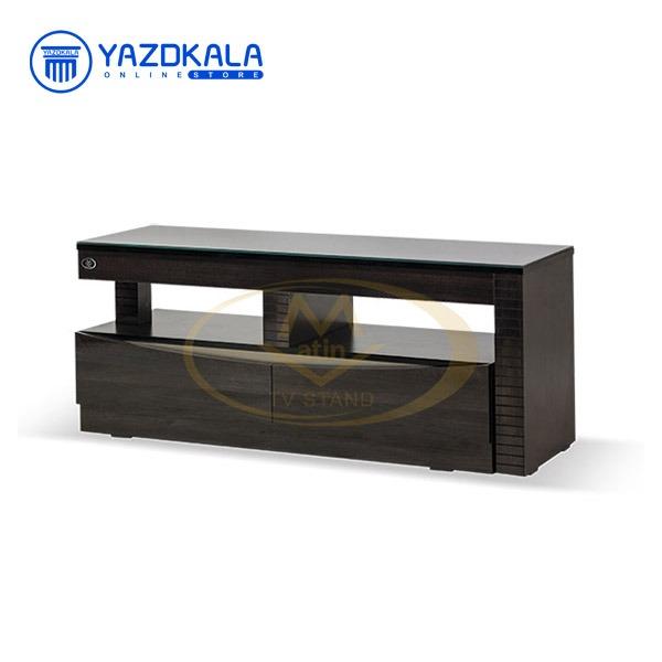 میز تلویزیون MDF متین مدل R20 با قابلیت تغییر سایز ، 120 سانتی