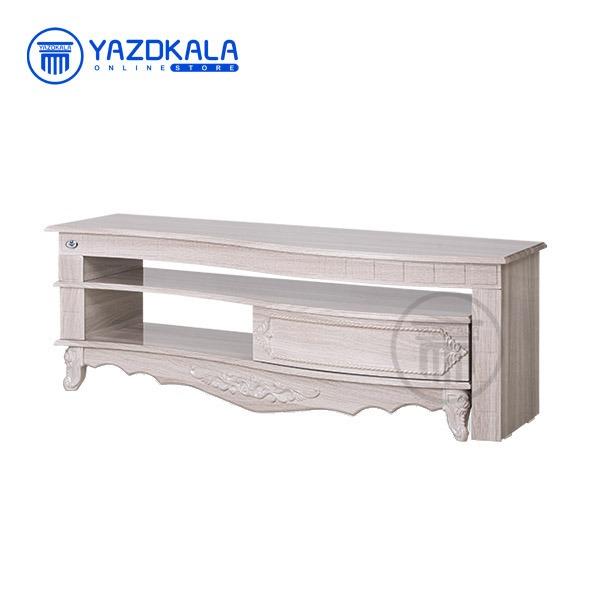 میز تلویزیون MDF متین مدل R714 با قابلیت تغییر سایز ، 140 سانتی