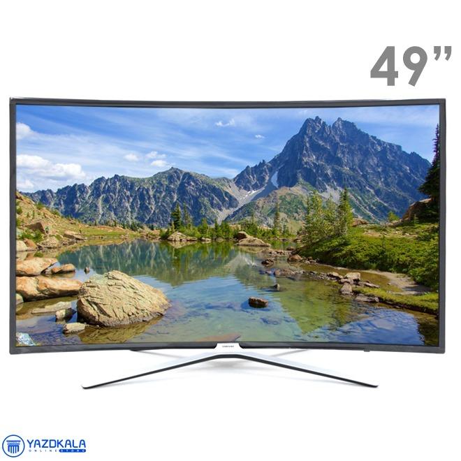 تلویزیون منحنی 49 اینچ هوشمند سامسونگ مدل 49M6975 با کیفیت تصویر Full HD