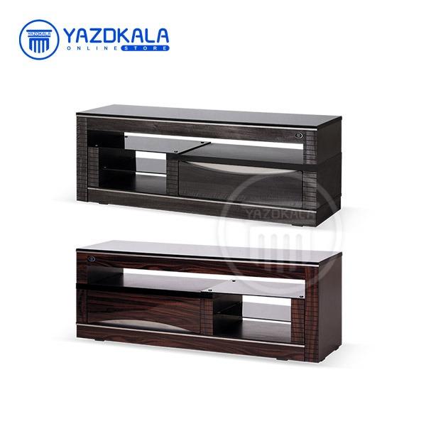 میز تلویزیون MDF  متین مدل R33 با قابلیت تغییر سایز ، 140 سانتی