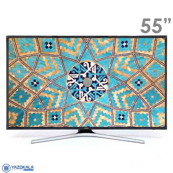 تلویزیون 55 اینچ هوشمند سامسونگ مدل 55MU7980 با کیفیت تصویر 4k