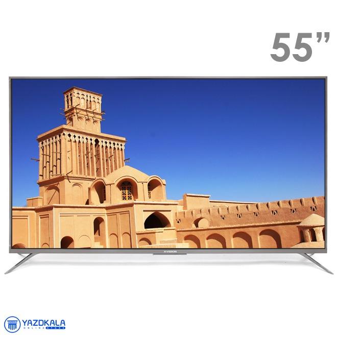 تلویزیون 55 اینچ هوشمند ایکس ویژن مدل 55XTU815  با کیفیت تصویر 4k