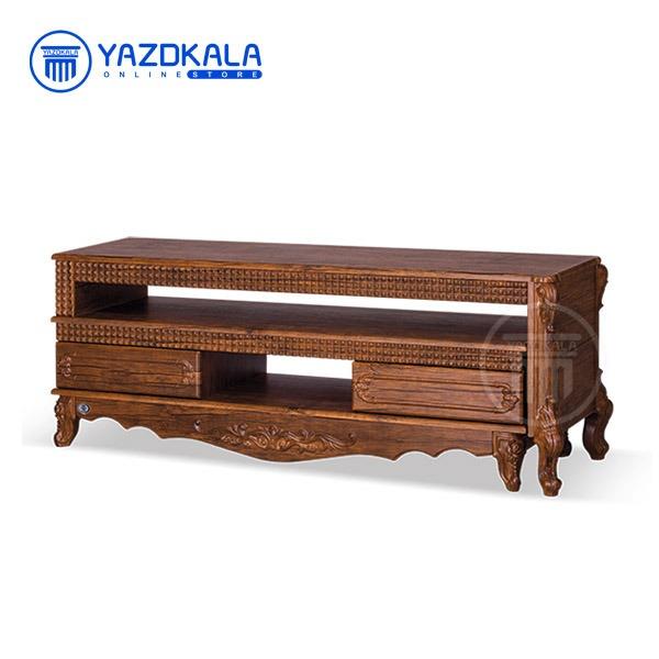 میز تلویزیون MDF متین مدل R716 با قابلیت تغییر سایز ، 140 سانتی