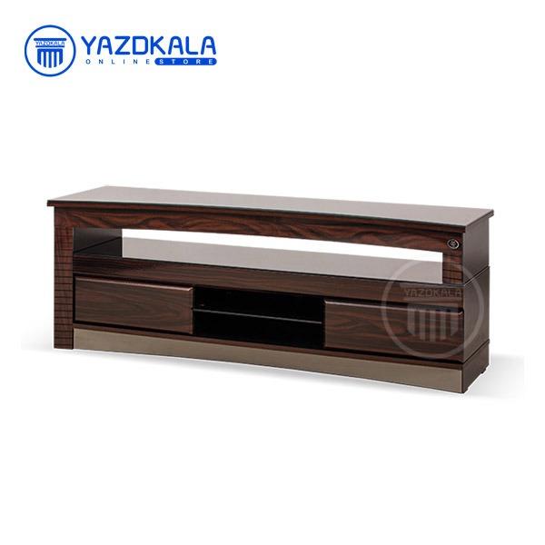 میز  تلویزیون MDF متین مدل R63 با قابلیت تغییر سایز ، 160 سانتی