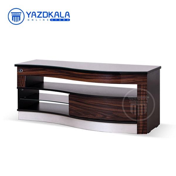 میز تلویزیون MDF متین مدل R202 با قابلیت تغییر سایز ، 120 سانتی