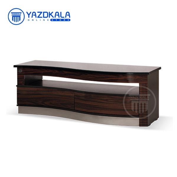 میز  تلویزیون MDF متین مدل R404 با قابلیت تغییر سایز ، 140 سانتی