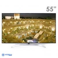 تلویزیون55اینچ هوشمند  ال جی مدل  GI 85000LJ با کيفيت تصوير Ultra HD-4K