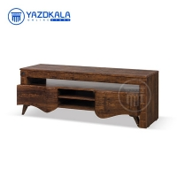 میز تلویزیون MDF متین مدل R804 با قابلیت تغییر سایز ، 140 سانتی