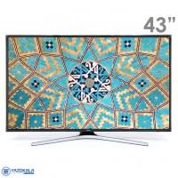 تلویزیون 43 اینچ هوشمند سامسونگ مدل 43MU7980 با کیفیت تصویر 4k