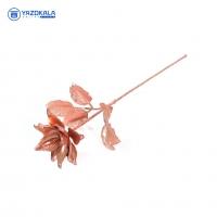 شاخه گل مسی | لعاب مس | کد 2059