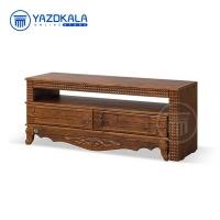 میز تلویزیون MDF متین مدل R724 با قابلیت تغییر سایز ، 120 سانتی