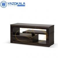میز تلویزیون MDF متین مدل R111  با قابلیت تغییر سایز ، 110 سانتی